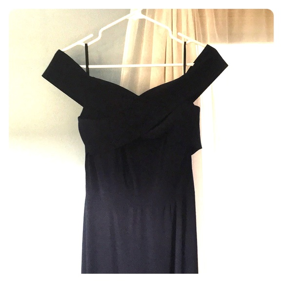 Navy Blue size 12 Sorella Vita Bridesmaid Dress